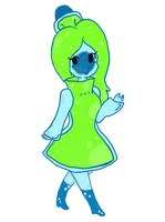 Art Trade: Ramune Princess by Shellybelly95