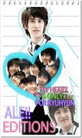 ALE EDITIONS MY HEART IS ONLY FOR KYU by DDLoveEditions