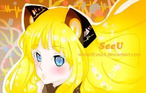 SeeU vocaloid by winterEve24
