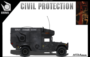 Hmmwv CP Fan art M997 by Milosh--Andrich