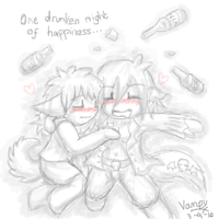 Drunken Bliss by Xantaria