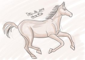 Horse a Day - Dec 16 by liliy