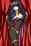 Sexy Tharja Commission by Misswaterfox