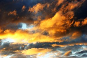 A Sky In Flames by foliey