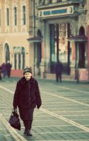 Passenger in Romania by PortraitOfaLife