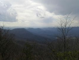 Brasstown Bald Trail by redwolfradolf