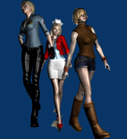 Silent Hill ladies by Ygure