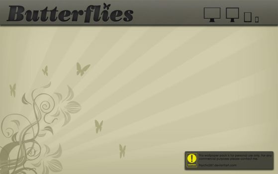Butterflies-wp. by Psycho287