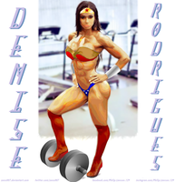 Gym Wonder Woman Denise Rodrigues by zenx007