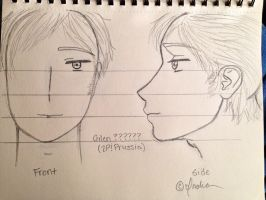 My Gilen ?????? (2P!Prussia) Sketch-Out by Myindiansummer