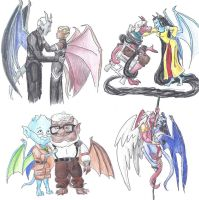 Disney Gargoyles Crossovers 4 by Nebulan