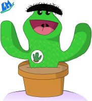 Oucho the cactus by marballz