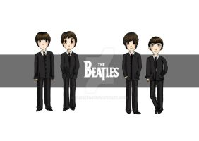 The Beatles by Aramig