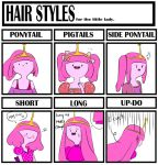 Hair style meme - Princess Bubblegum by natto-ngooyen