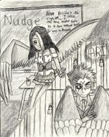 MR- Nudge vs Ari by ALostSoul13