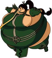 Akali's weight loss program by Vascaloid
