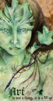 The GreenWoman by sphinxmuse
