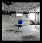 Blue Chair by Arawn-Photography