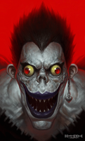 Ryuk Portrait by SterlingTuttle