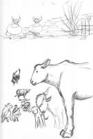 cows by granny. cows by me by Kayah-D-Horse-Maiden