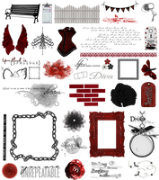 True Blood / Vampire: Word Art + Clear Cut PNG 29 by Riogirl9909stock