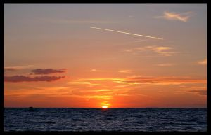Sunset  -  20150902 by Loony-Lucy