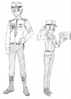 Japanese Police Uniforms by ItaLuv