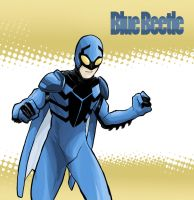 Blue Beetle- Dick Grayson by facelesscow