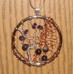 Twined Trees Pendant by Windthin