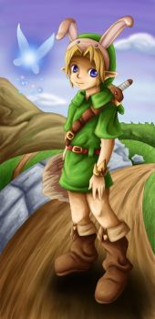 Trade: Young Link by Lady-of-Link