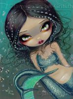 Pearl Swirl Mermaid by jasminetoad