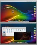 Colors of KDE by LaGaDesk