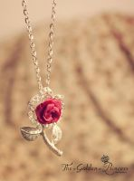 Neck's Rose .. by The-Golden-Princess