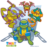 TMNT PIZZA TIME by Torogoz