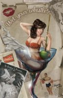 Vintage Pin Up by cheery-macaroon