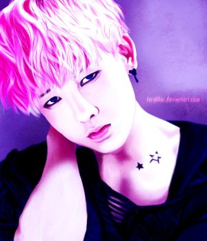 [B.A.P] Zelo Portrait by teralilac