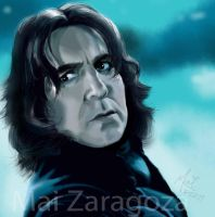 Snape Snape Severus Snape by amused-mai