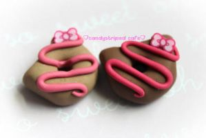 hello kitty donut by CandyStripedCafe