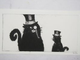 Cats with Hats by NordicLynx