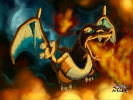 Pokemon Art Academy - Charizard by LadyCharizard