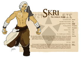 Skri Profile Card by TalenLee