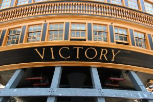 The Name Says It All (HMS Victory) by DavidKrigbaum