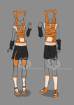 Girl'n'Boy Tiger Outfit - unlimited by Nahemii-san