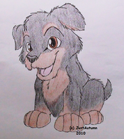 Rottwieler Pup by JustAutumn