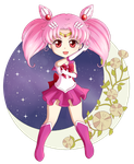 Sailor Chibi Moon by Klimene