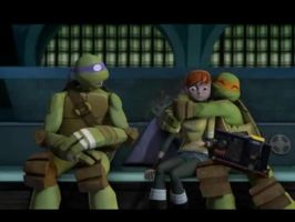 Tmnt 2012 -Jealous Donnie by aamlfan04