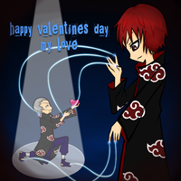 .+ Sasori V-day Entry +. by tobi2moodring
