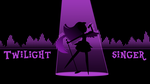 Twilight Singer wallpaper - equalizer style by ManeFunction