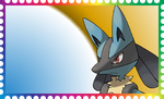 Lucario stamp by 506i0954680-3