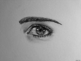 Eye Study by KellytheUnicorn
